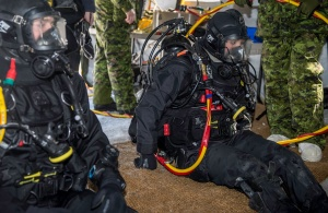 (female) Canadian navy diver!