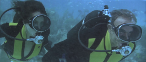 "Our scuba ""couple""..."